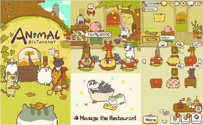 animal restaurant gameplay