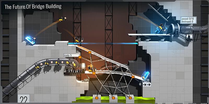 Overview of Bridge Constructor Portal MOD APK