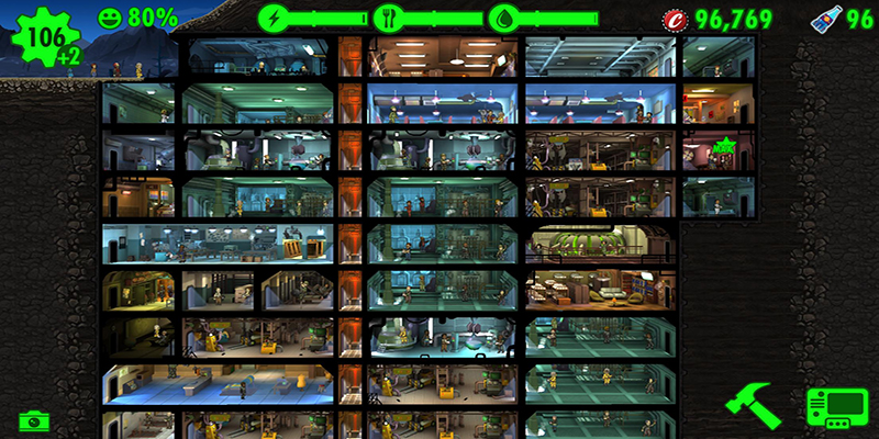 Play Free Fallout Shelter MOD APK on Android Mobiles