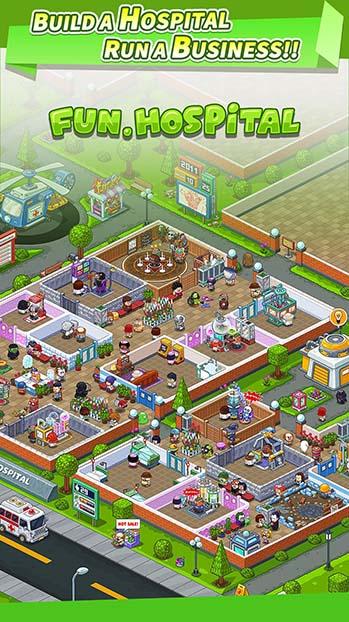 Fun Hospital MOD APK: Build Your Own Hospital Style
