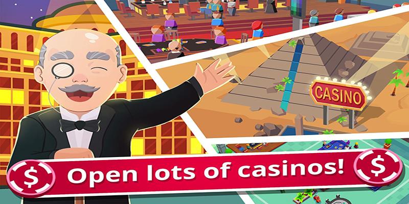Idle Casino Manager - Business Tycoon Simulator