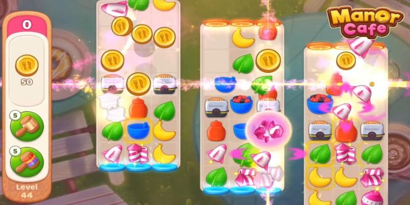 manor cafe mod apk gameplay