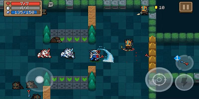soul knight mod apk game play