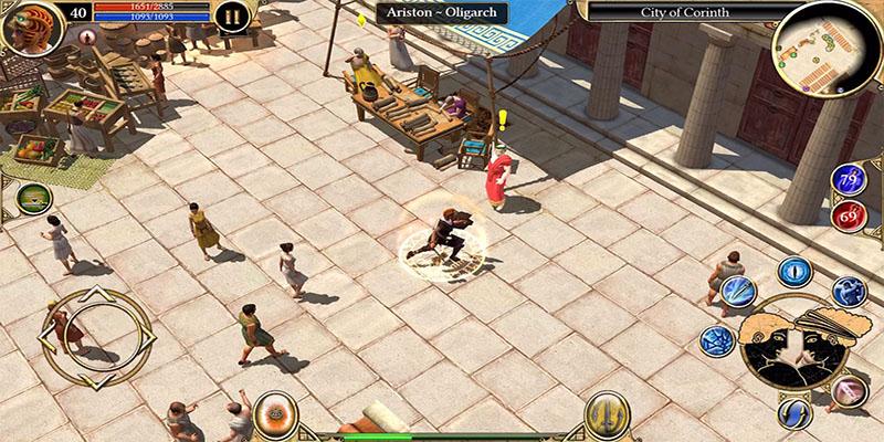 Graphics of Titan Quest: Legendary Edition