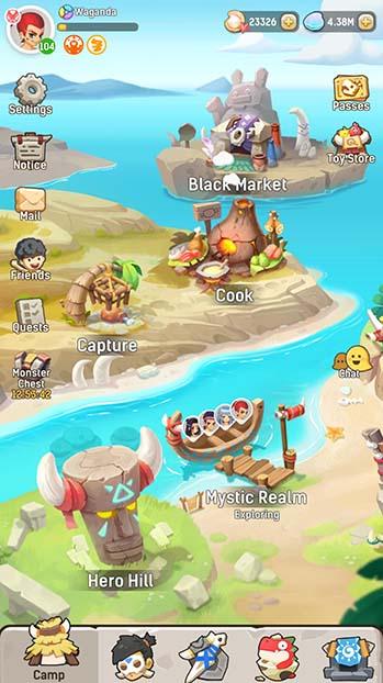 Overview of Urala: Idle Adventure